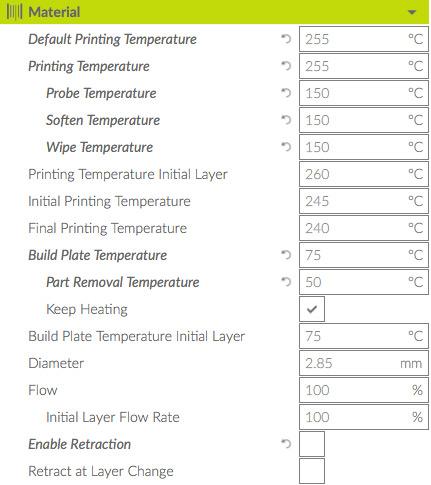 printing with bridge nylon